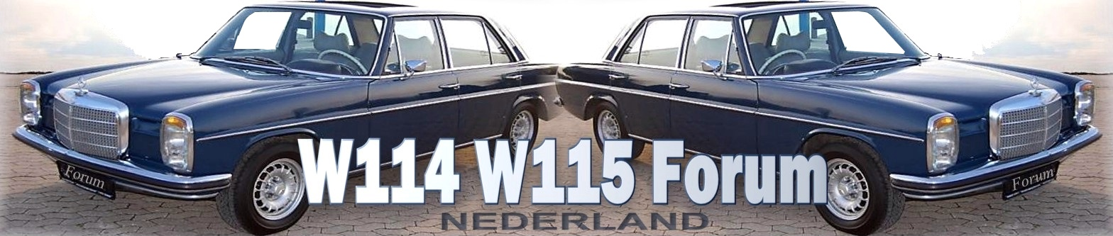 W114 W115 strich8 Mercedes Benz Oldtimerforum